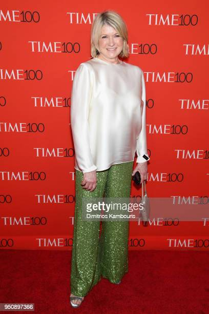 Martha Stewart attends the 2018 Time 100 Gala at Jazz at Lincoln Center on April 24 2018 in New York City