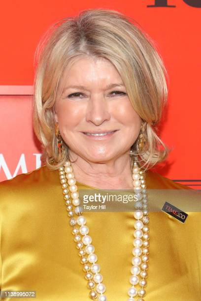 Martha Stewart attends the 2019 Time 100 Gala at Frederick P. Rose Hall, Jazz at Lincoln Center on April 23, 2019 in New York City.