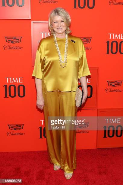 Martha Stewart attends the 2019 Time 100 Gala at Frederick P Rose Hall Jazz at Lincoln Center on April 23 2019 in New York City