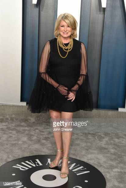 Martha Stewart attends the 2020 Vanity Fair Oscar Party hosted by Radhika Jones at Wallis Annenberg Center for the Performing Arts on February 09,...