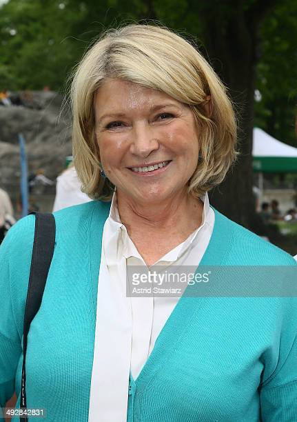 Martha Stewart attends the 22nd Annual Playground Partners Family Party hosted by Central Park Conservancy at Heckscher Playground on May 21 2014 in...
