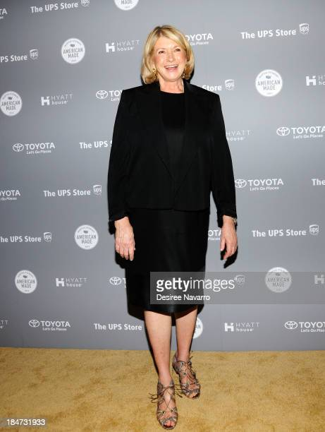 Martha Stewart attends the 2nd annual American Made Awards at Vanderbilt Hall at Grand Central Terminal on October 15 2013 in New York City