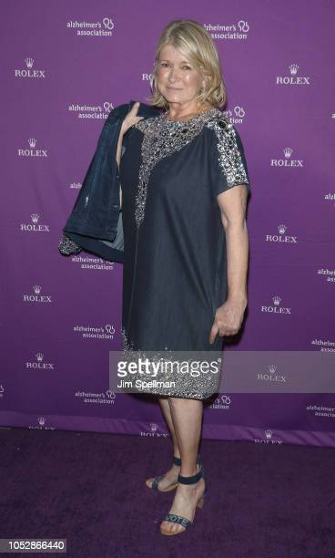 Martha Stewart attends the 35th Annual Alzheimer's Association Rita Hayworth Gala at Cipriani 42nd Street on October 23 2018 in New York City