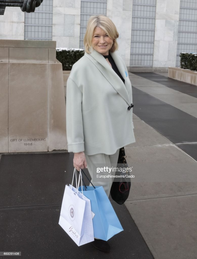 Martha Stewart attends the 4th Annual UN Women For Peace Association Awards Luncheon at the UN Headquarters in New York City, New York, March 10, 2017. (Photo via EuropaNewswire/Gado/Getty Images).