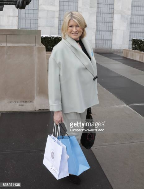 Martha Stewart attends the 4th Annual UN Women For Peace Association Awards Luncheon at the UN Headquarters in New York City New York March 10 2017