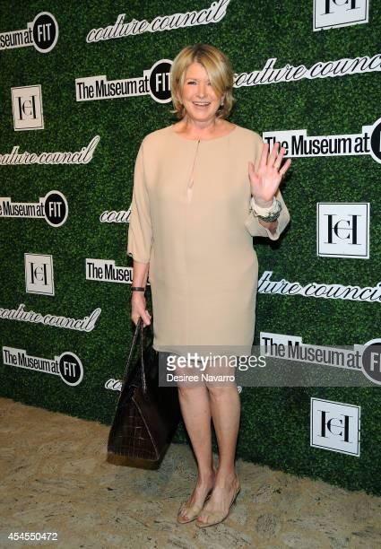 Martha Stewart attends the 8th Annual Fashion Award Honoring Carolina Herrera at David H Koch Theater at Lincoln Center on September 3 2014 in New...