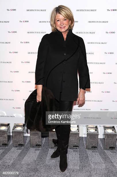 Martha Stewart attends The AD100 Gala Hosted By Architectural Digest Editor In Chief Margaret Russell at The Four Seasons Restaurant on November 25...