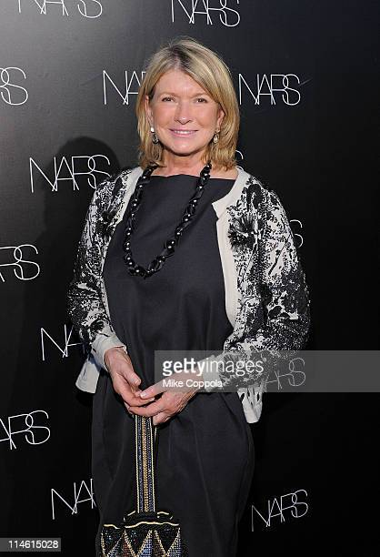 Martha Stewart attends the book celebration for Makeup Your Mind Express Yourself by Francois Nars at Cedar Lake on May 24 2011 in New York City