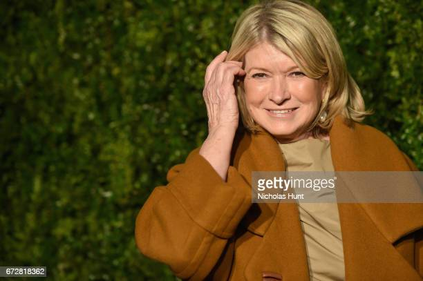 Martha Stewart attends the CHANEL Tribeca Film Festival Artists Dinner at Balthazar on April 24 2017 in New York City