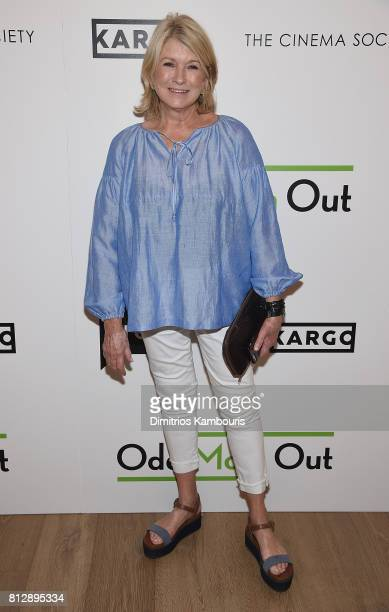 Martha Stewart attends The Cinema Society Hosts The Season 3 Premiere Of Bravo's 'Odd Mom Out at the Whitby Hotel on July 11 2017 in New York City