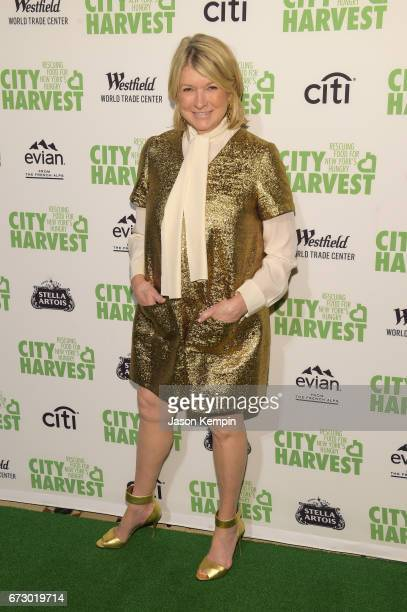 Martha Stewart attends the City Harvest's 23rd Annual Evening Of Practical Magic at Cipriani 42nd Street on April 25 2017 in New York City