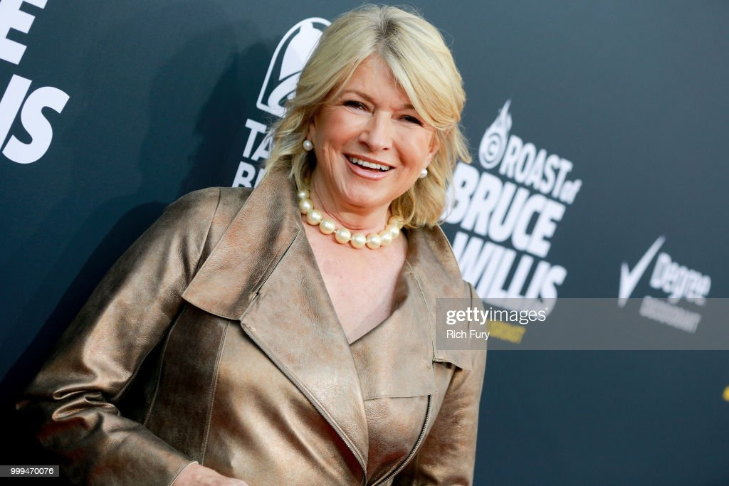 Martha Stewart attends the Comedy Central Roast of Bruce Willis at Hollywood Palladium on July 14, 2018 in Los Angeles, California.
