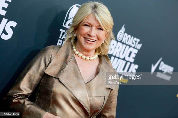Martha Stewart attends the Comedy Central Roast of Bruce Willis at Hollywood Palladium on July 14 2018 in Los Angeles California