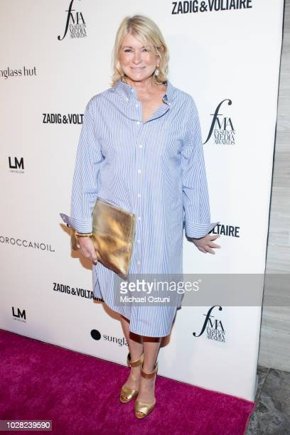 Martha Stewart attends The Daily Front Row 6th Annual Fashion Media Awards at Park Hyatt New York on September 6 2018 in New York City