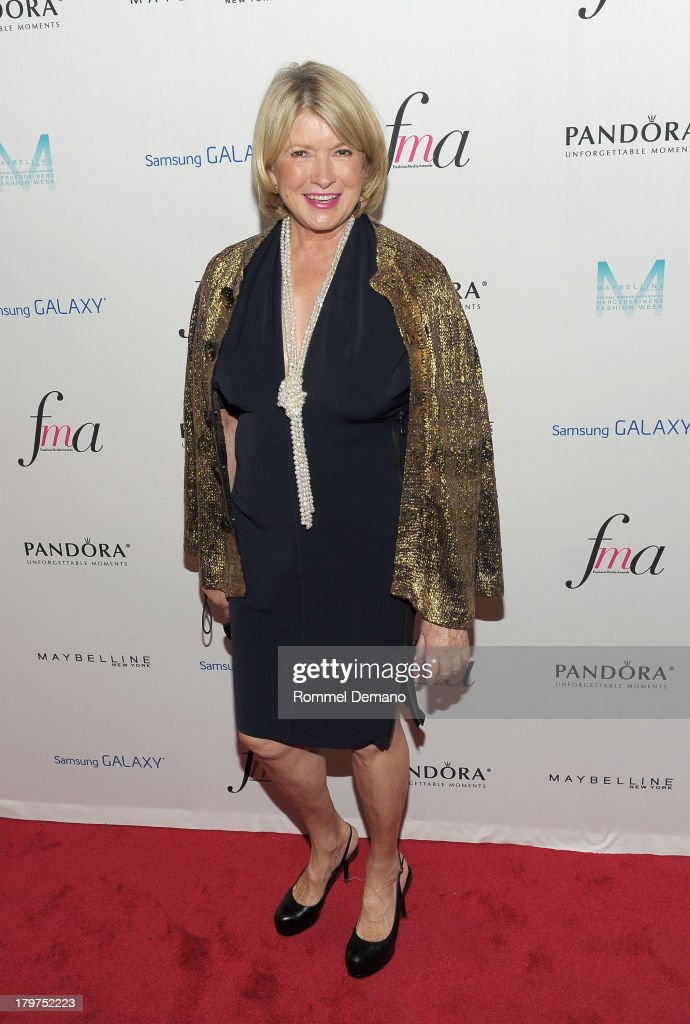 Martha Stewart attends The Daily Front Row's Fashion Media Awards at Harlow on September 6, 2013 in New York City.
