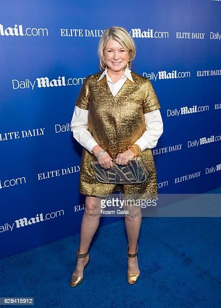 Martha Stewart attends the DailyMailcom and Elite Daily holiday party at Vandal on December 7 2016 in New York City