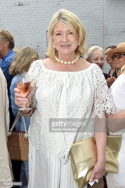 Martha Stewart attends the East Hampton Summer Screening Of The Wife at Guild Hall on July 22 2018 in East Hampton New York