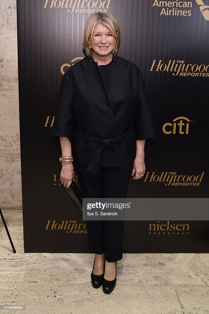 Martha Stewart attends the Hollywood Reporter's 2016 35 Most Powerful People in Media at Four Seasons Restaurant on April 6, 2016 in New York City.