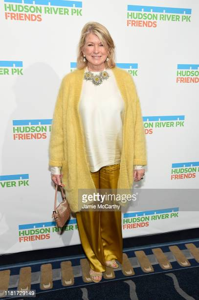 Martha Stewart attends the Hudson River Park Annual Gala at Cipriani South Street on October 17, 2019 in New York City.