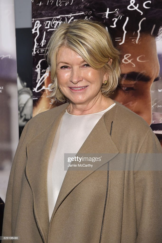 Martha Stewart attends 'The Man Who Knew Infinity' New York Screening at Chelsea Bow Tie Cinemas on April 27, 2016 in New York City.