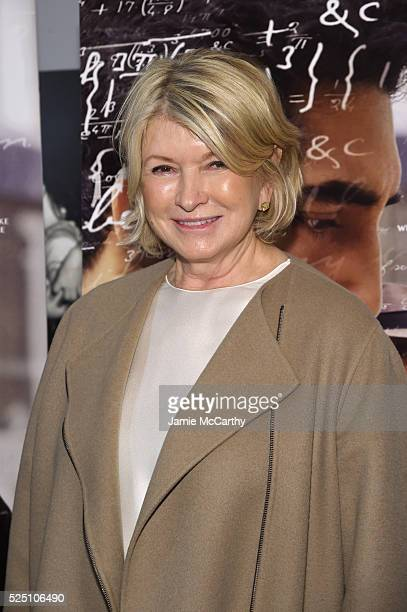 Martha Stewart attends 'The Man Who Knew Infinity' New York Screening at Chelsea Bow Tie Cinemas on April 27 2016 in New York City