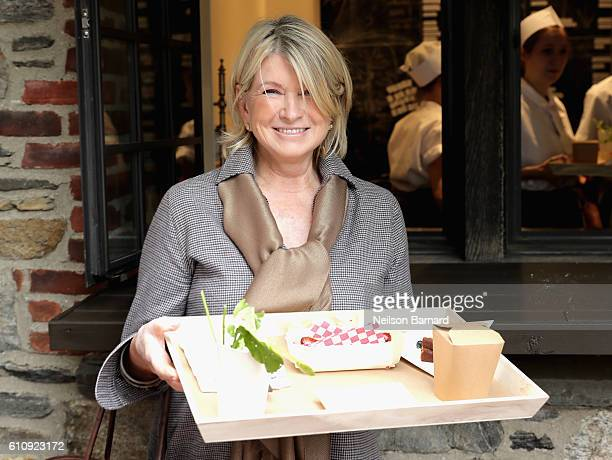 Martha Stewart attends The New York Times Food For Tomorrow Conference 2016 on September 28 2016 in Pocantico New York