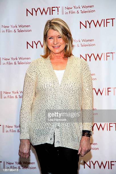 Martha Stewart attends the New York Women In Film & Television 31st Annual Muse Awards at the New York Hilton Grand Ballroom on December 7, 2011 in...