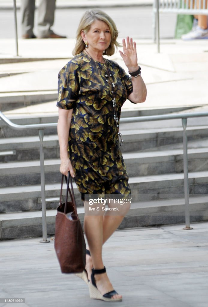 Martha Stewart attends the Nora Ephron Memorial Service on July 9, 2012 in New York City.