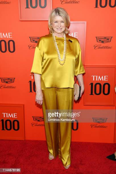 Martha Stewart attends the TIME 100 Gala Red Carpet at Jazz at Lincoln Center on April 23 2019 in New York City