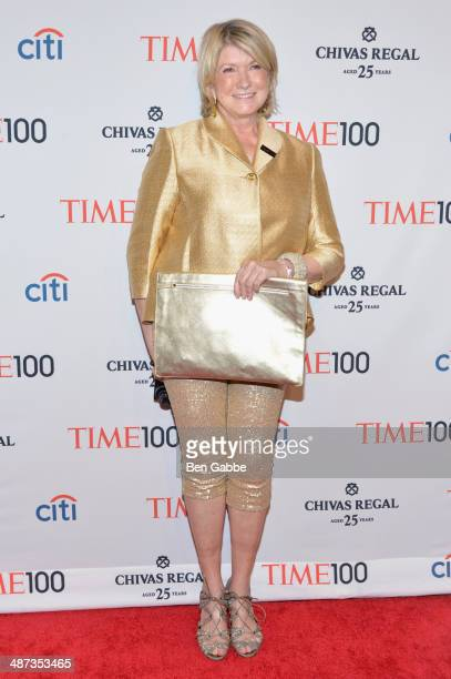 Martha Stewart attends the TIME 100 Gala TIME's 100 most influential people in the world at Jazz at Lincoln Center on April 29 2014 in New York City