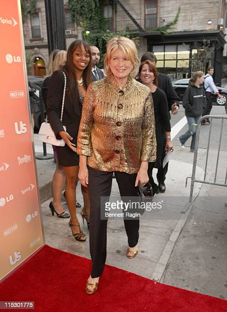 Martha Stewart attends Us Weekly's 25 Most Stylish New Yorkers event at Avenue on September 16 2009 in New York City