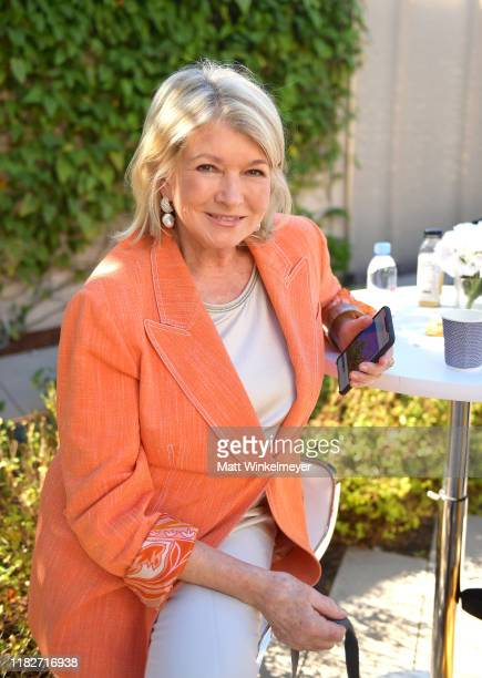 Martha Stewart attends Vanity Fair's 6th Annual New Establishment Summit at Wallis Annenberg Center for the Performing Arts on October 22, 2019 in...