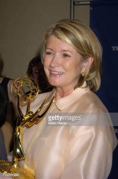 Martha Stewart during 31st Annual NATAS Daytime Emmy Craft Awards at The Marriott Marquis Hotel in New York, New York, United States.