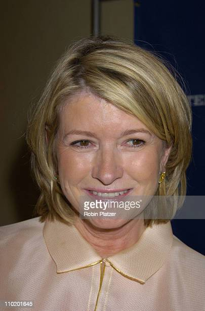 Martha Stewart during 31st Annual NATAS Daytime Emmy Craft Awards at The Marriott Marquis Hotel in New York New York United States