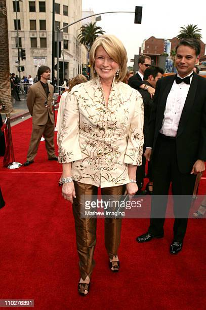 Martha Stewart during 33rd Annual Daytime Emmy Awards - Red Carpet at Kodak Theater in Hollywood, California, United States.
