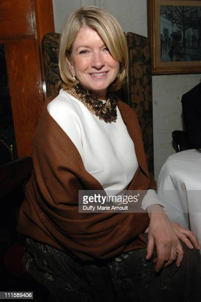 Martha Stewart during Chado Ralph Rucci 's 25th Anniversary Retrospective at F.I.T. Museum in New York City, New York, United States.