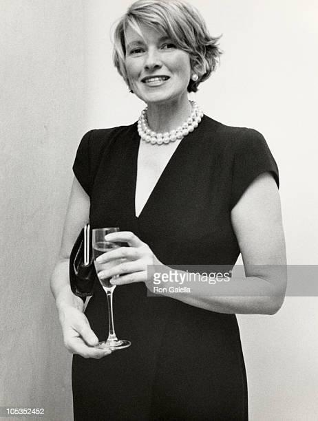 Martha Stewart during Lenox Hill Hospital Emergency Room benefit at Bulgari Jewerly Store in New York City New York United States