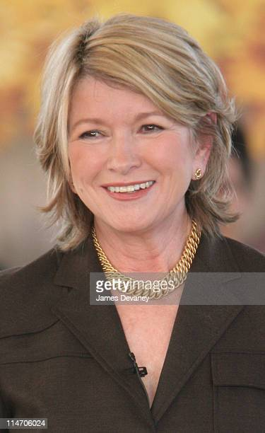 Martha Stewart during Martha Stewart Returns to Work Press Conference at Omnimedia Headquarters in New York City New York United States
