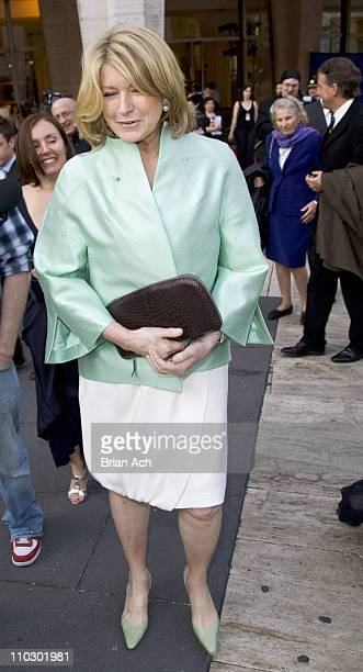 Martha Stewart during Martha Stewart Sighting at Lincoln Center May 7 2007 at Lincoln Center in New York City New York United States