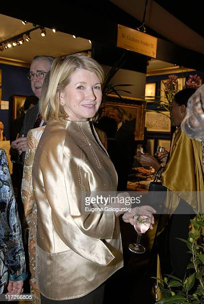 Martha Stewart during Opening Night of the 2007 Winter Antiques Show to Benefit the East Side House Settlement January 18 2007 at The Armory in New...