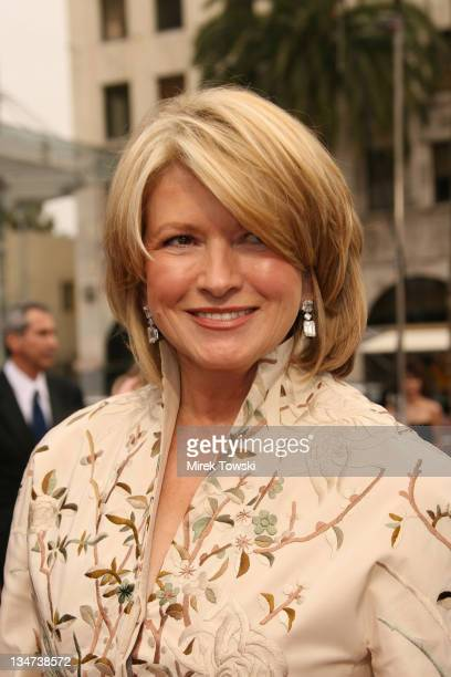 Martha Stewart during The 33rd Annual Daytime Emmy Awards Arrivals at Hollywood Kodak Theater in Hollywood California United States