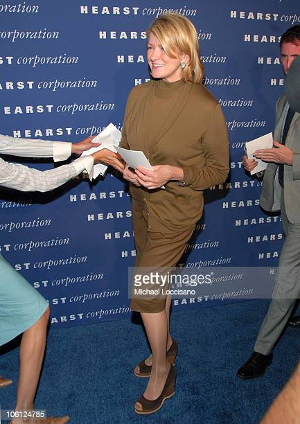 Martha Stewart during The Inauguration of The Hearst Tower at The Hearst Tower in New York City New York United States