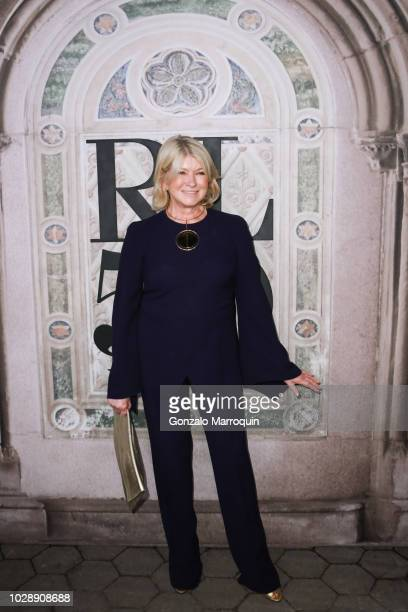 Martha Stewart during the Ralph Lauren 50th Anniversary September 2018 New York Fashion Week at Bethesda Terrace on September 7 2018 in New York City