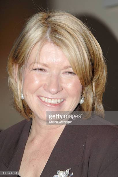 Martha Stewart during The White House Projects 2006 EPIC Awards Honoring Geena Davis for Outstanding Efforts to Promote Images of Powerful Women in...