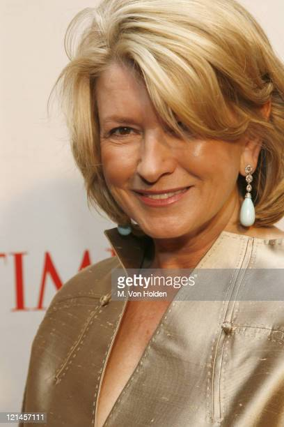 Martha Stewart during Time Magazine 100 Most Influential People 2006 Party at Jazz at Lincoln Center in New York New York United States