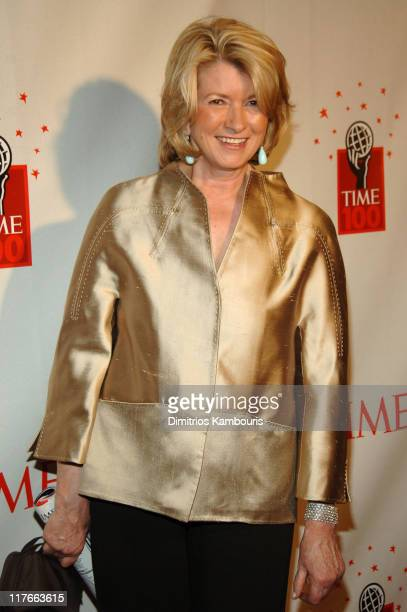Martha Stewart during Time Magazine's 100 Most Influential People 2006 Arrivals at Jazz at Lincoln Center at Time Warner Center in New York City New...