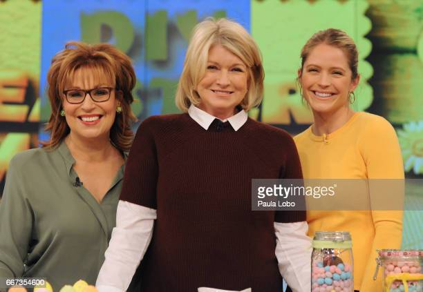 THE VIEW Martha Stewart is the guest Thursday April 13 2017 on ABC's 'The View' 'The View' airs MondayFriday on the ABC Television Network HAINES