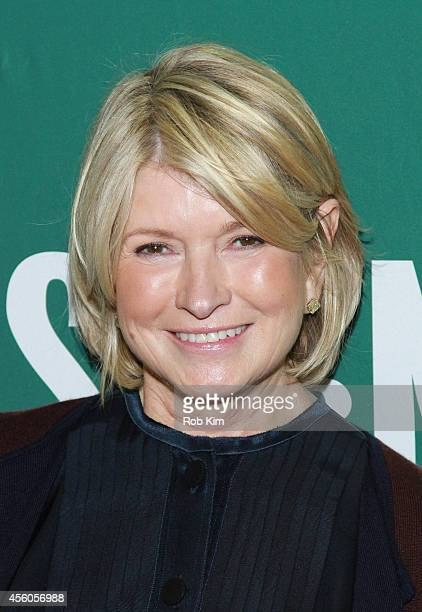 Martha Stewart promotes her new cookbook 'One Pot' at Barnes Noble Union Square on September 24 2014 in New York City