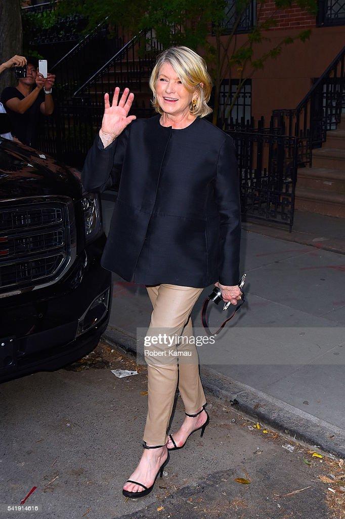 Celebrity Sightings in New York City - June 20, 2016