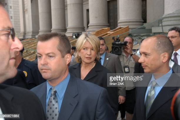 Martha Stewart sentenced today to five months in prison for lying to investigators about a stock sale that brought her relatively little financial...